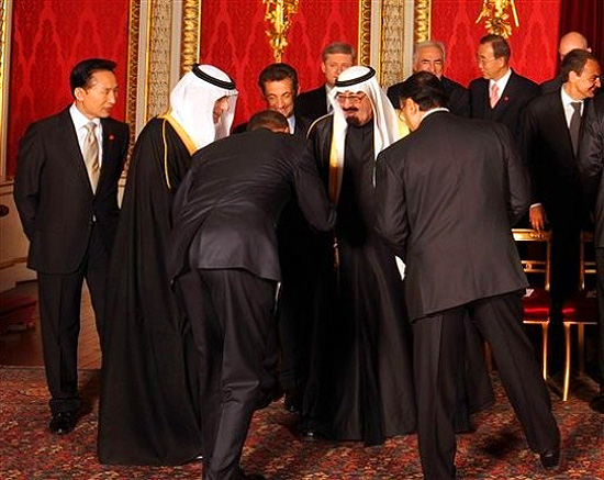 obama bows to saudi king best