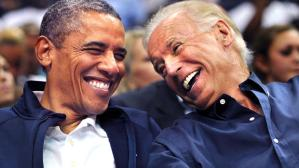 obama-biden laugh at americans