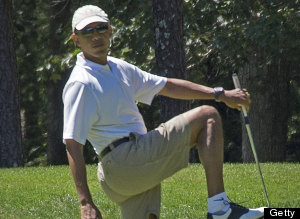 US-POLITICS-OBAMA-GOLF
