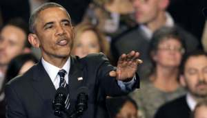 Obama tries to quirt hecklers